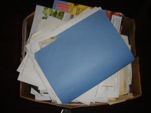 """the blue folder"""