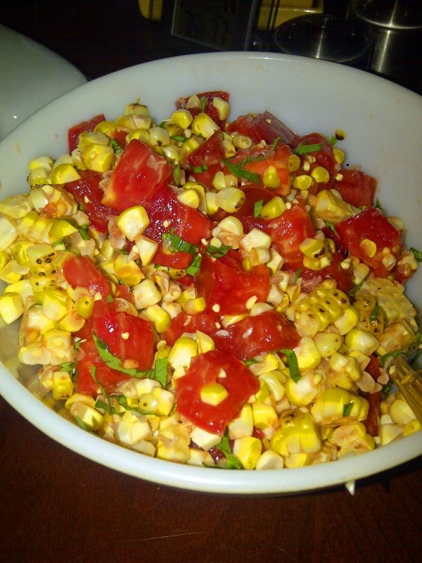 corn tomatoe salad